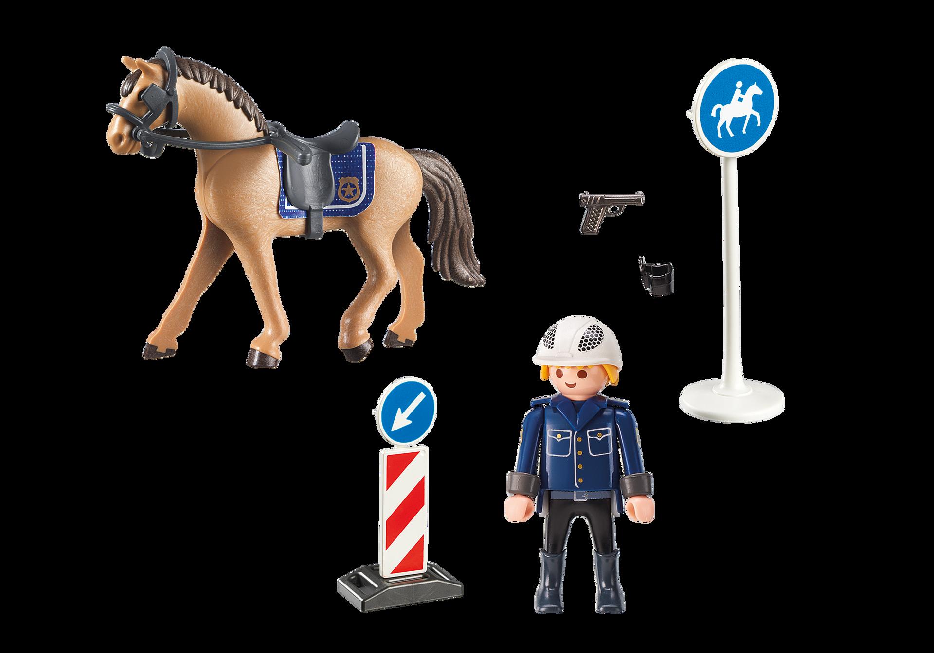 Poliziotto a cavallo (9260) contenuto