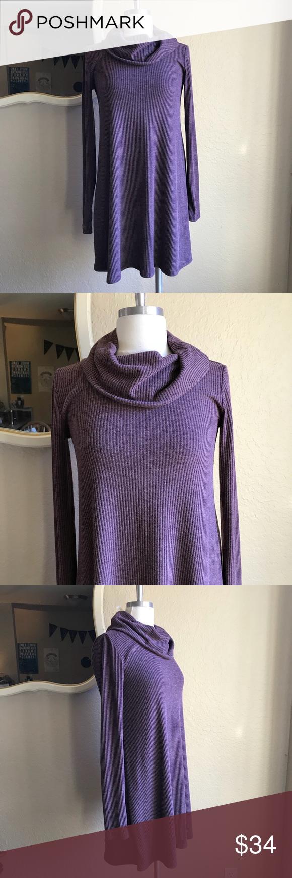 Nordstrom Socialite cowl neck swing sweater dress   Cowl neck ...