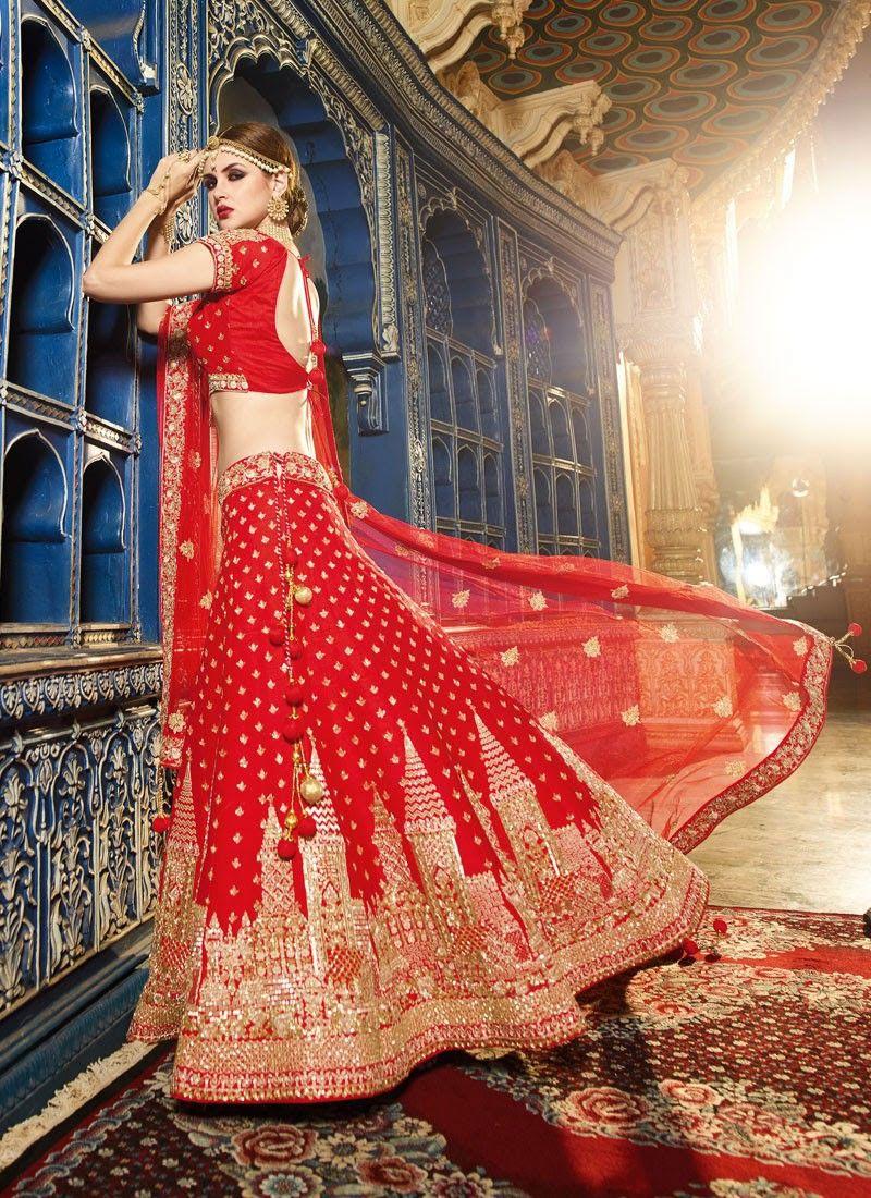 0edb659d40876b Latest Lehenga Choli Designs 2018-2019 For Indian Brides | Women ...