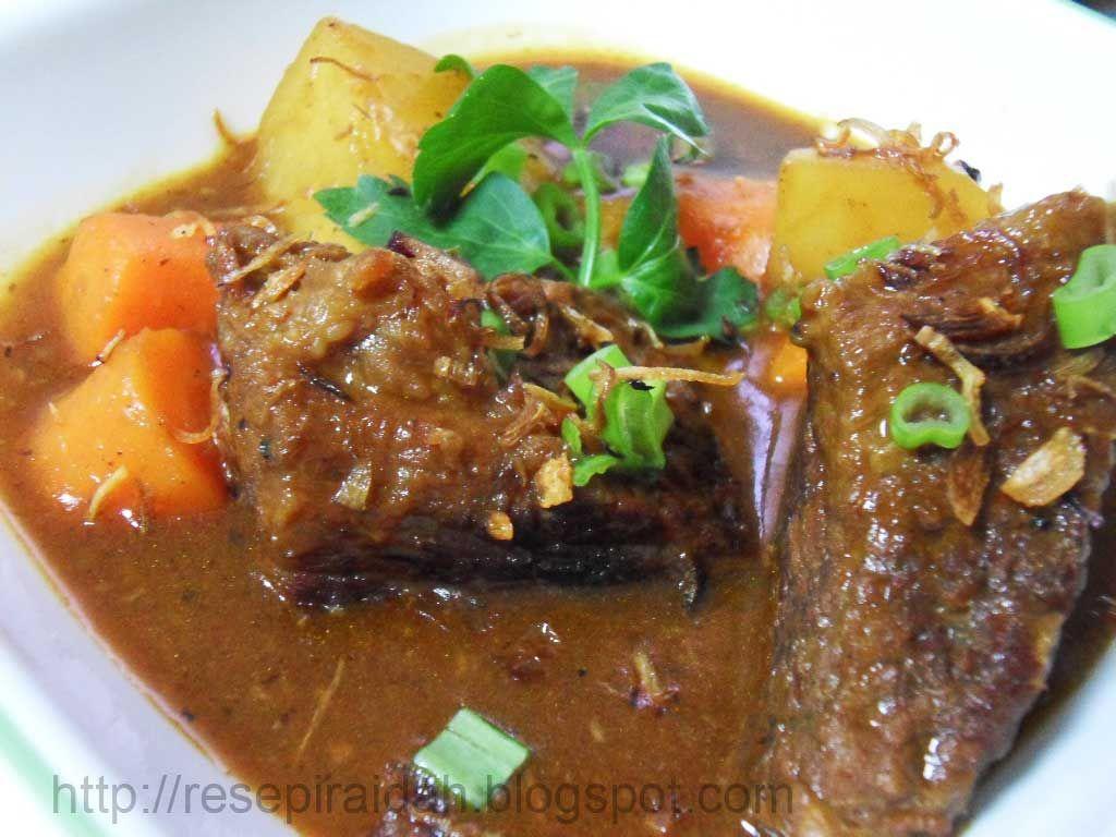 Resepi stew daging yg disediakan mengikut cita rasa saya sendiri..  Bahan-bahan:  500gm daging lembu/kambing ~ bersihkan dan potong kiub 2 ...