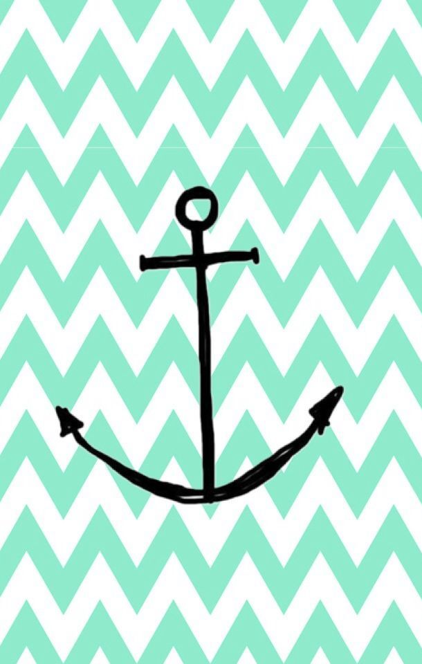 Cute Mint Anchor Wallpaper For Iphone Anchor Anchor Wallpaper