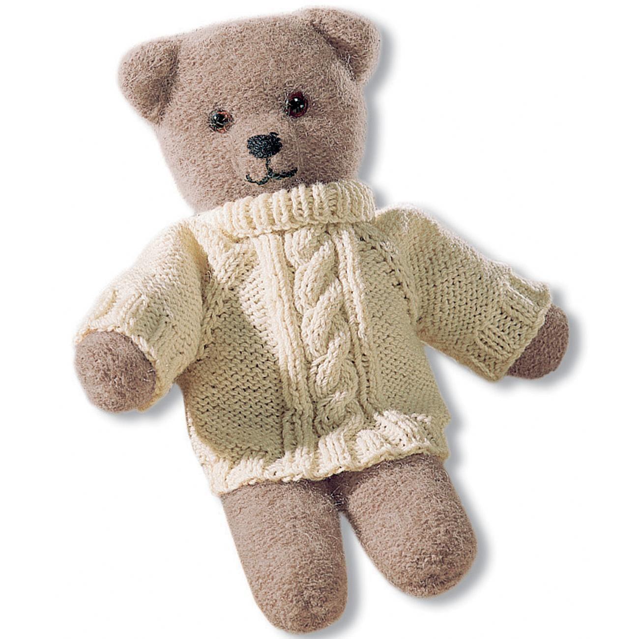 Für den Teddy (ca. 40 cm) benötigen Sie: 100 g Poco in Hellbraun ...