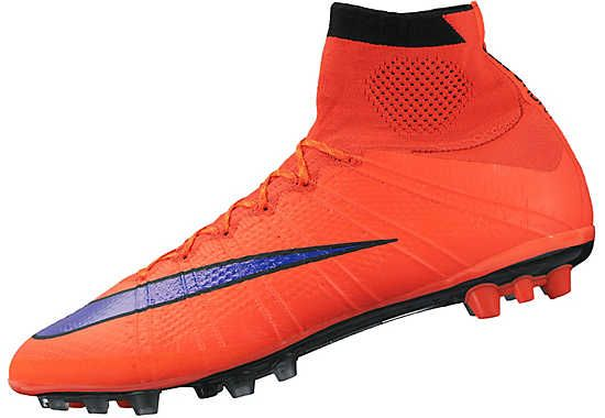 best sneakers 9f2d3 514ec Nike Mercurial Superfly IV AG-R Soccer Cleats - Red and Violet