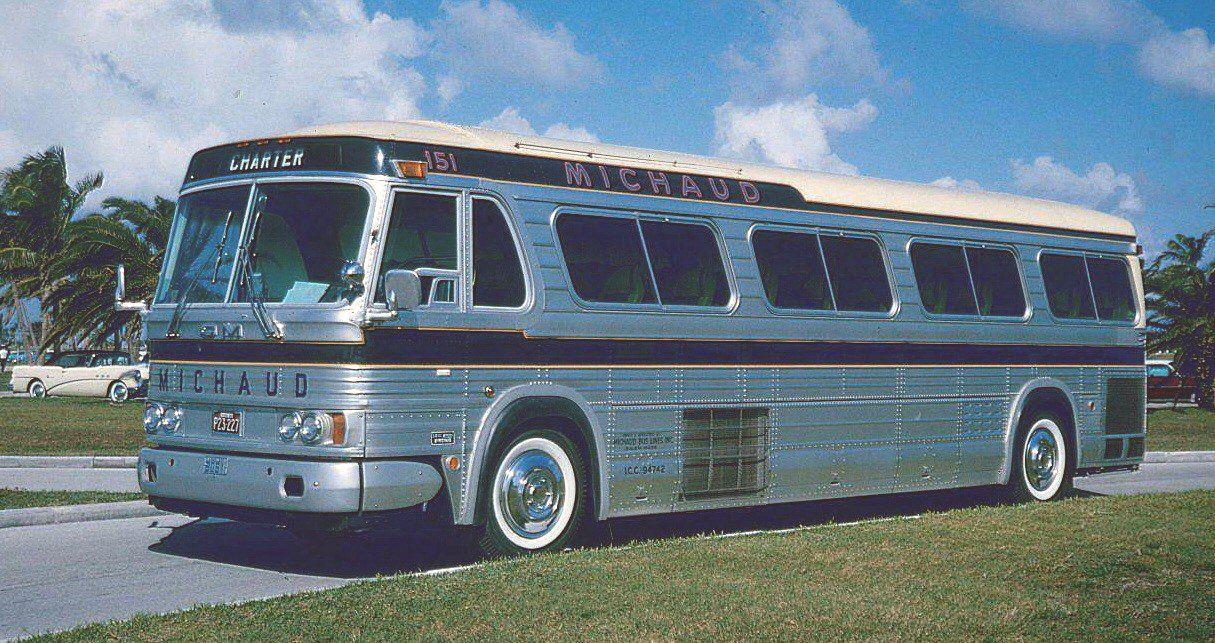 Michaud Bus Lines Gm Pd 4106 Our 151 Bus Coach Motorcoach Bus
