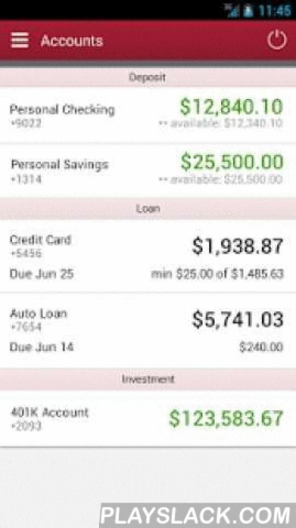 Mit Federal Credit Union Android App Playslack Com Features Of Mit Federal Credit Union Mobile Banking R In 2020 Personal Savings Federal Credit Union Accounting