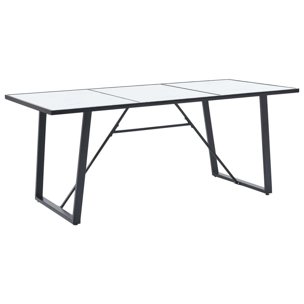 ZUN Dining Table White 78.7