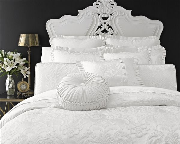 j queen chantilly white comforter bedding queens new york - J Queen New York Bedding