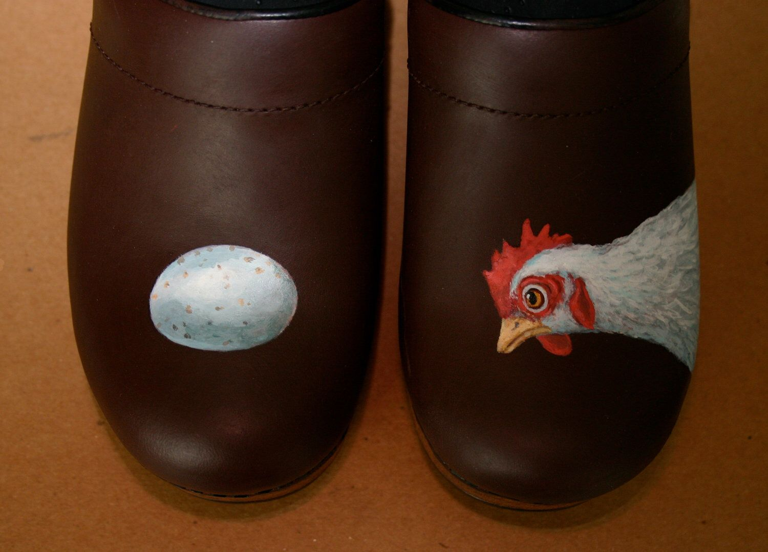 Ships In 2 To 3 Days Chicken Walk Size 37 I Supply The Dansko Clog By Shoetrip On Etsy Https Www Etsy Com Listing 104391204 Clogs Painted Shoes Dansko Clogs