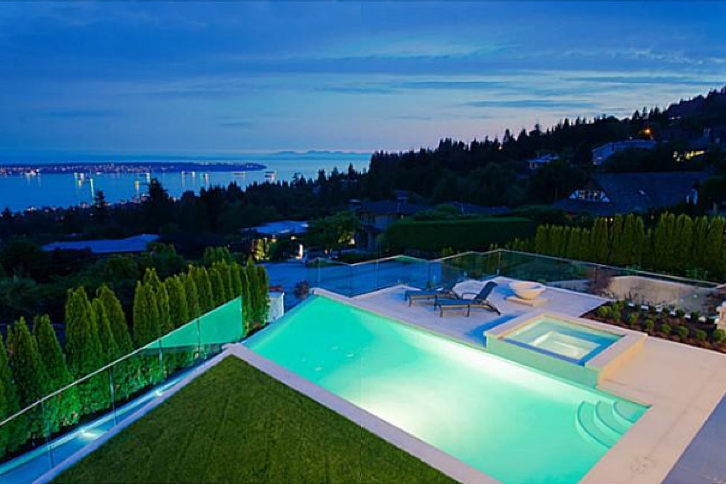 Mesmerizing swimming pool builders vancouver contemporary for Pool design vancouver