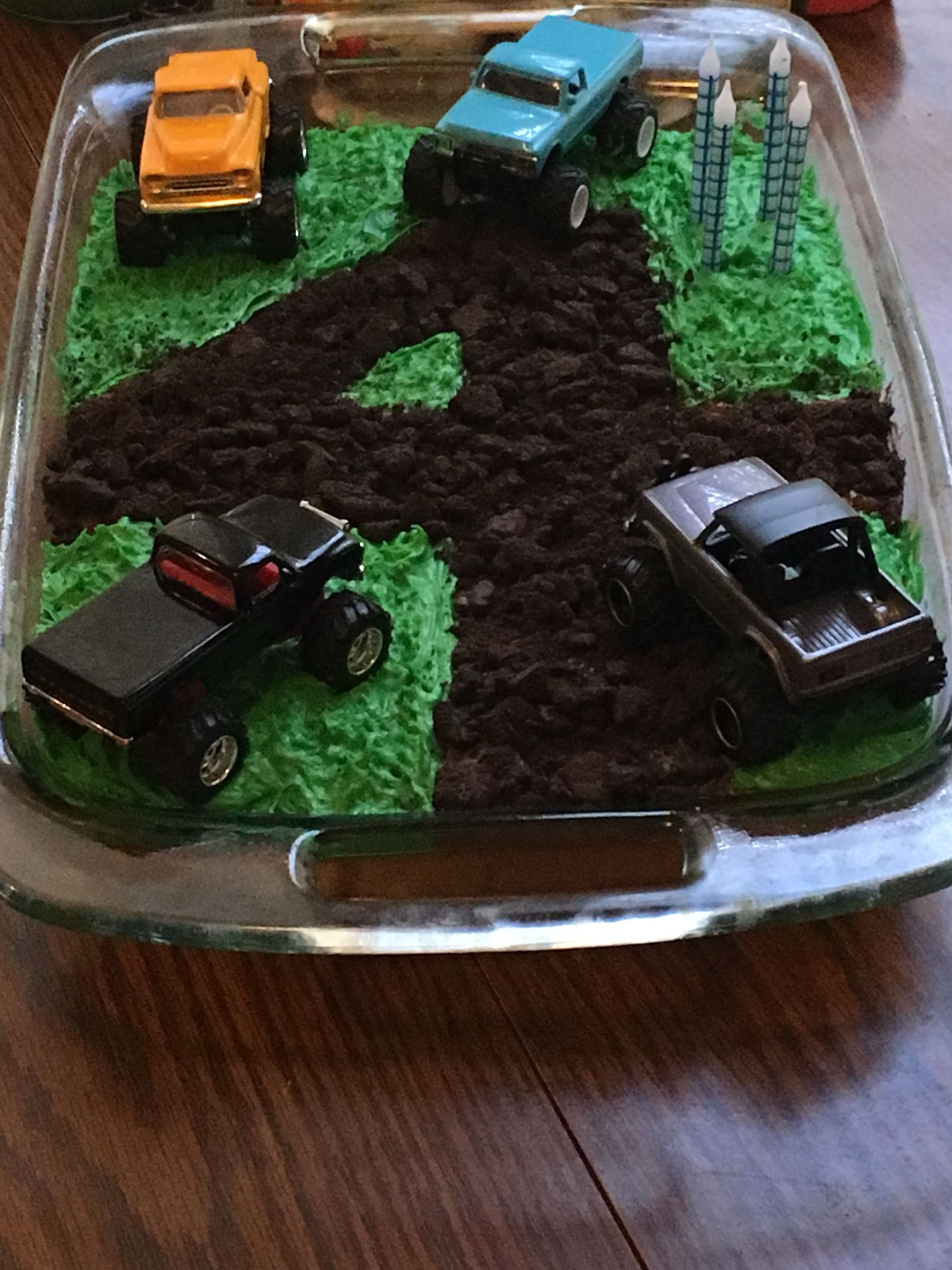 Monster Truck Birthday Cake For Your 4 Year Old Boy