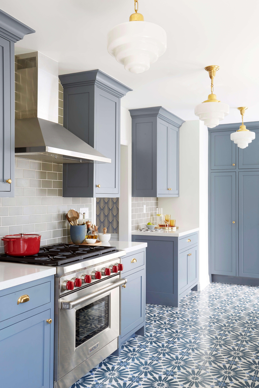 Modern Deco Kitchen Reveal Emily Henderson Kitchen Flooring Kitchen Renovation Interior Design Kitchen
