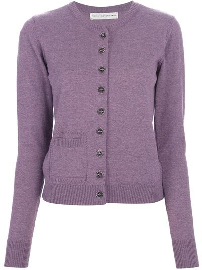 Purple merino wool sweater