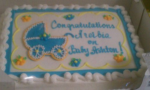 Of Course, We Will Do Old Faithful COSTCO CAKE! | Jessieu0027s Baby Shower  Ideas | Pinterest | Costco Cake, Costco And Shower Cakes