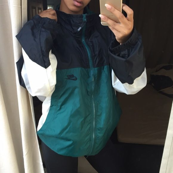 c3e905ba42f7 Nike colorblock windbreaker True vintage. No trades no low offers. This is  a vintage piece from the 90s. Great condition Nike Jackets Coats