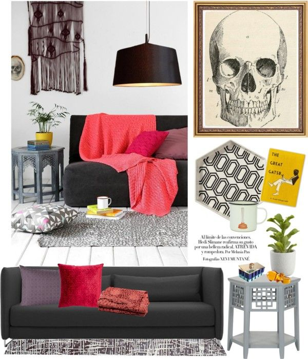 """""""Coral, Plum & Grey.... Oh My"""" by melissa-de-souza on Polyvore"""