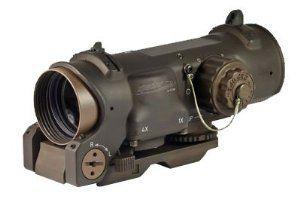 ELCAN SpecterDR 1x /4x Optical Sight Red Dot FDE Riflescope 7.62 DFOV14-T2