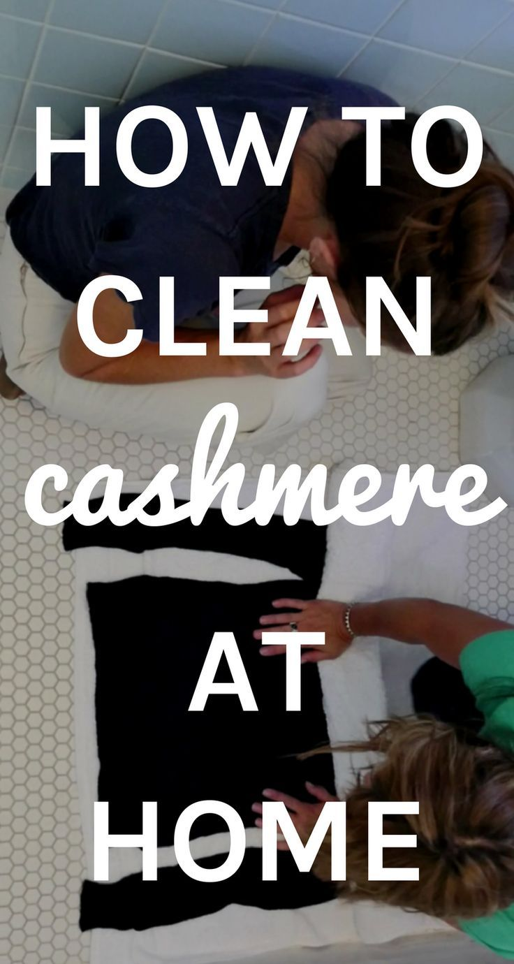 How to clean your Cashmere. Cashmere, Cleaning, Natural