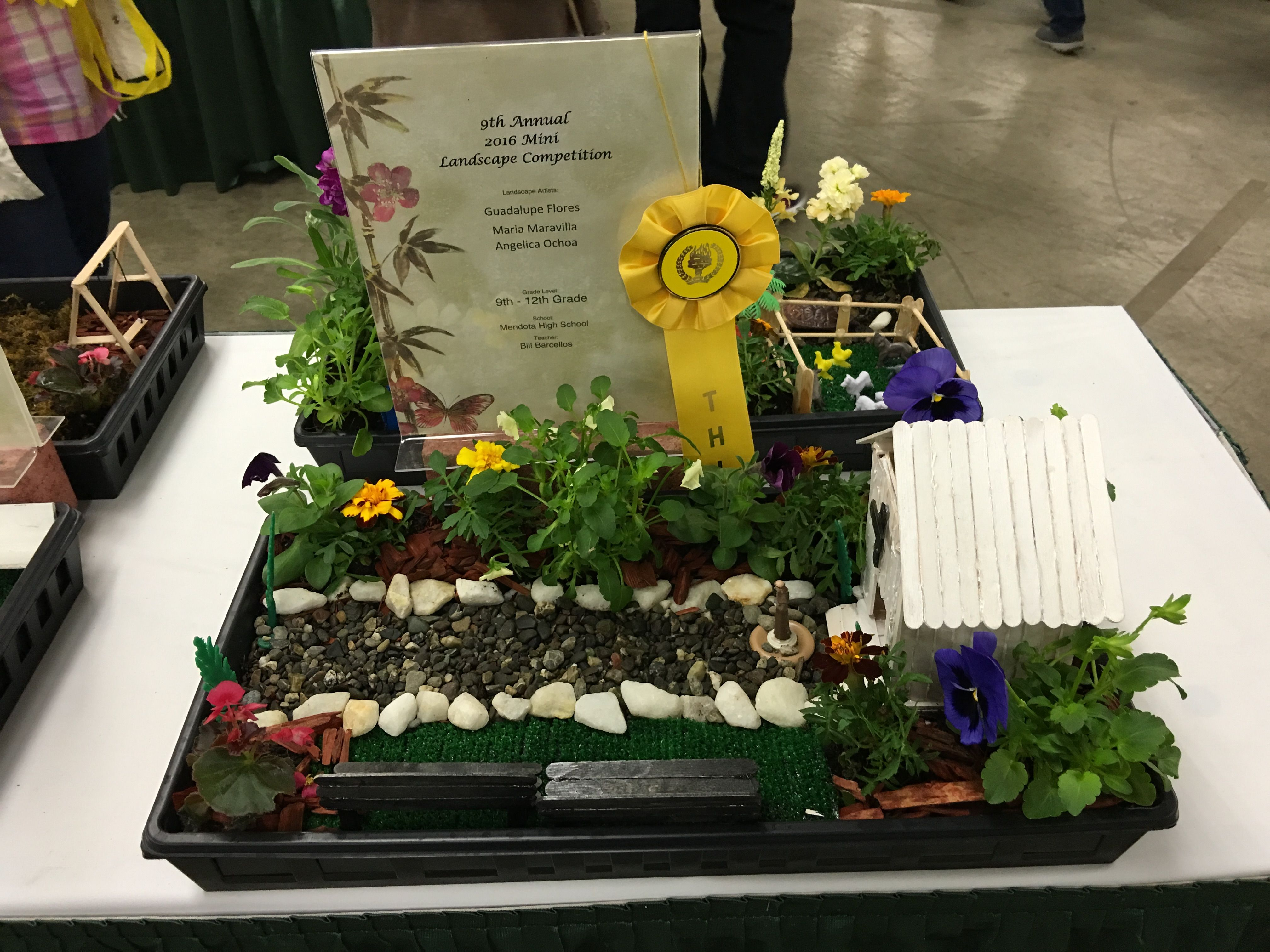 Exceptional March 2016 Student Mini Landscape Competition At The Fresno Home U0026 Garden  Show