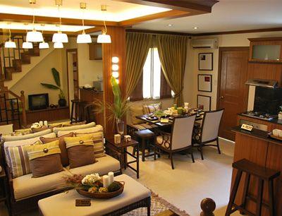 Interior design house model