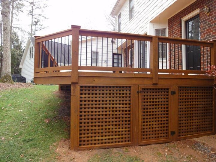 building deck lattice » Design and Ideas
