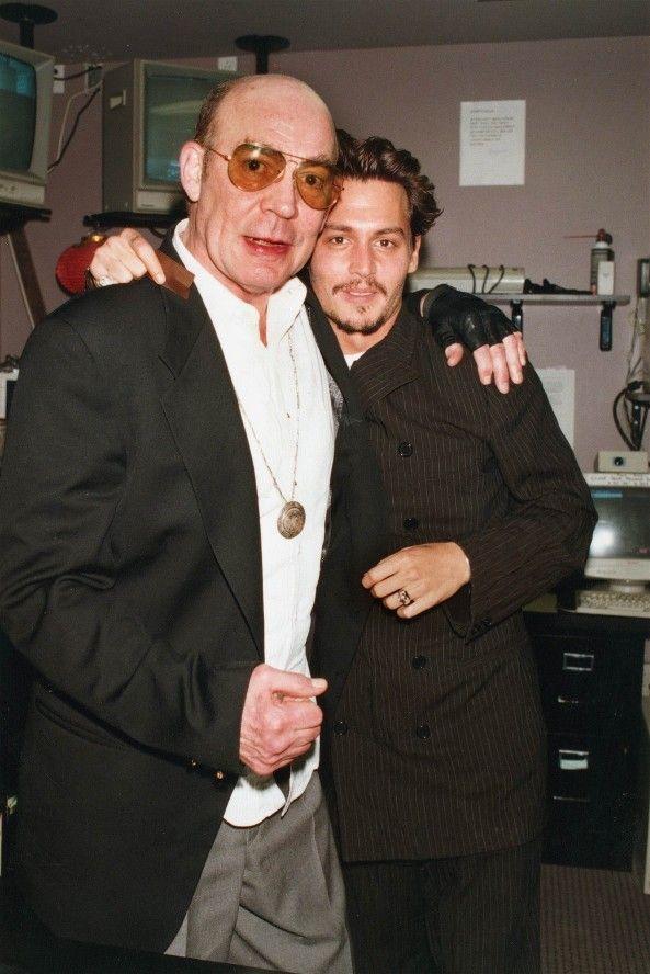 1dbedf55fc 593 x 888 www.pinterest.com. Johnny Depp  amp  Hunter Thompson ...
