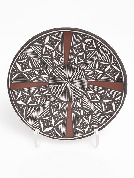 Pottery Plate by Amanda Lucario (Acoma)