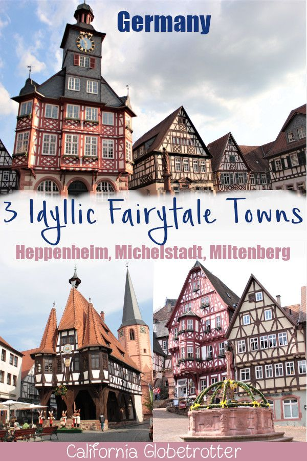 3 CHARMING Half-Timbered Towns You've Never Heard Of! #aroundtheworldtrips