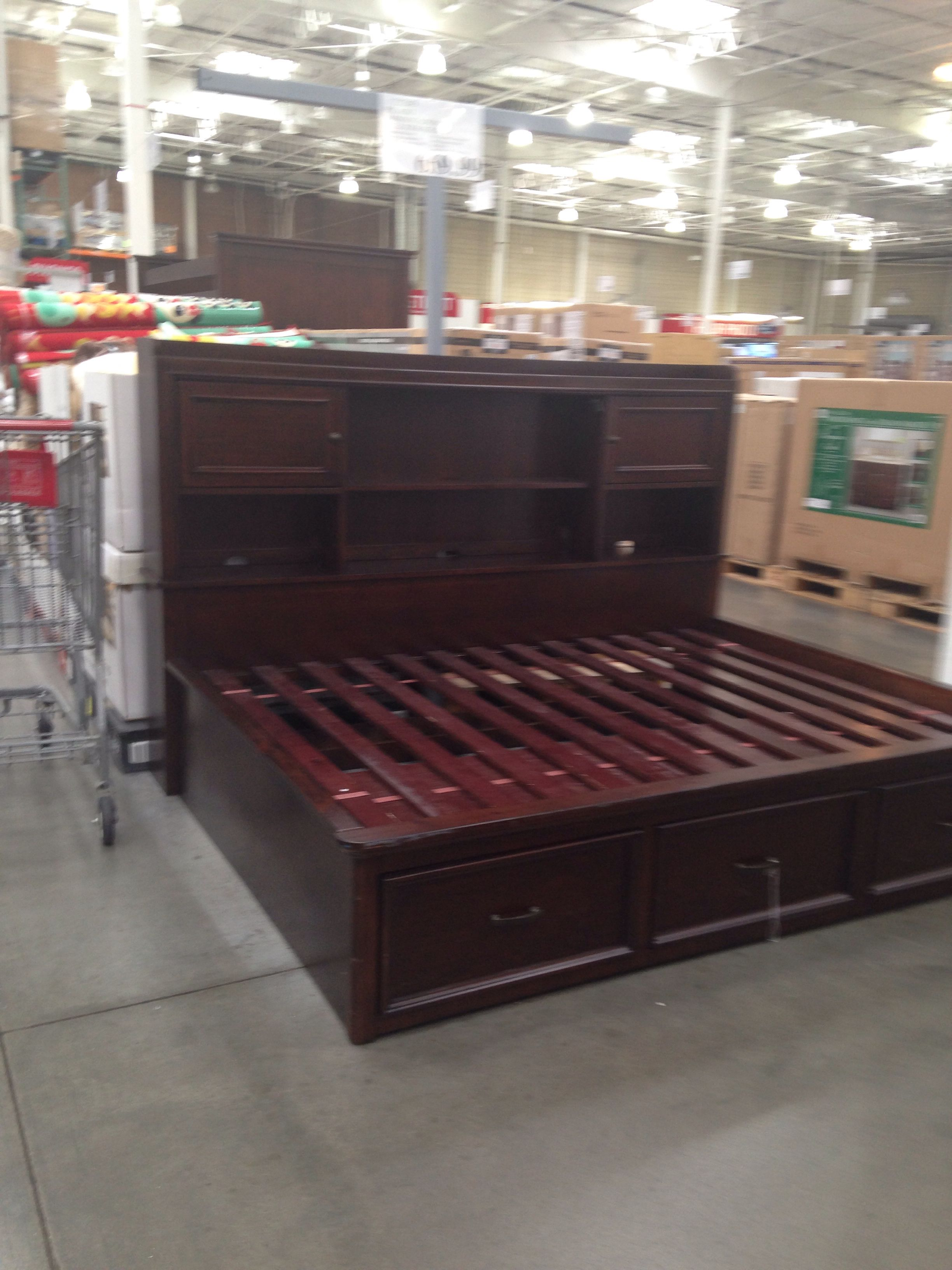 Costco Bed Frame Bed Frame Storage Bench Decor