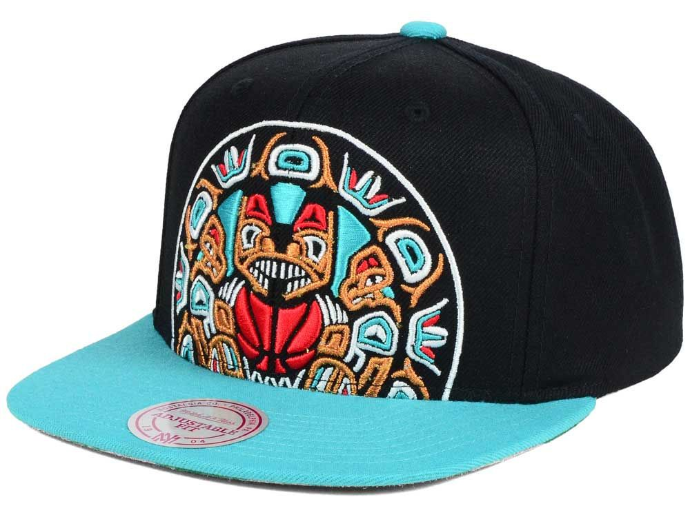 new products low priced best supplier Vancouver Grizzlies Mitchell & Ness NBA Hardwood Classic Cropped ...