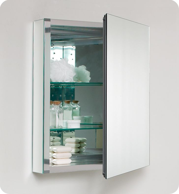 19 75 U0026quot Fresca Fmc8058 Small Bathroom Medicine Cabinet W Mirrors Mirrors Bath Kitchen