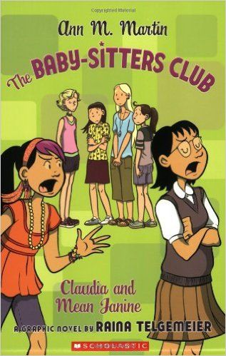 The Baby Sitters Club Claudia And Mean Janine Bsc Graphix Ann
