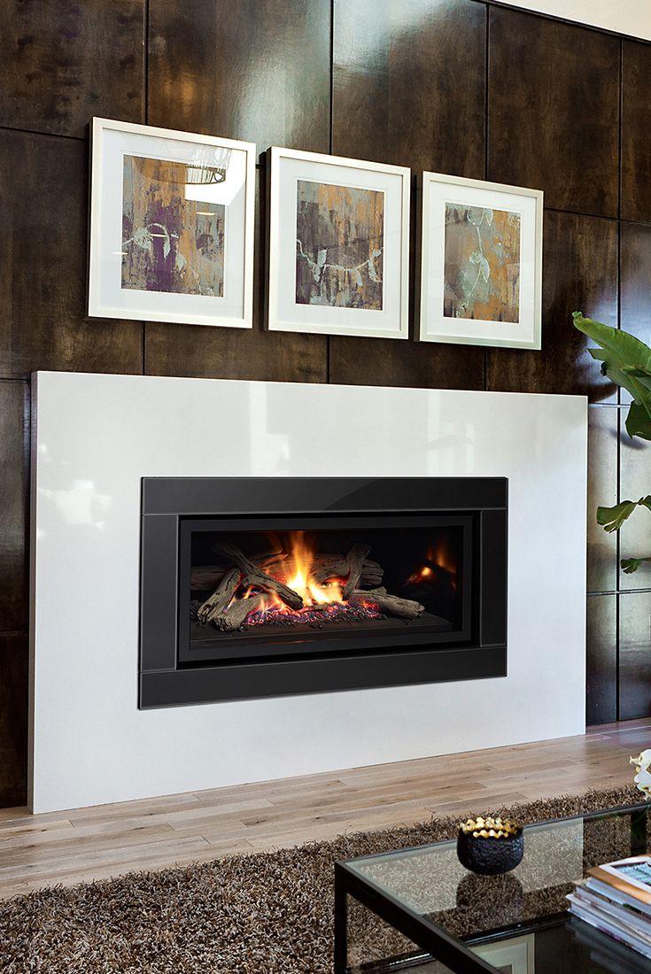 Regency U900e Contemporary Gas Fireplace Contemporary Gas