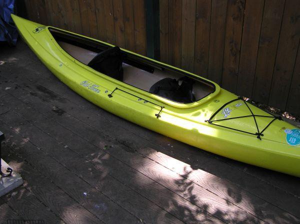 Yellow Old Town Loon 138t Tandem Kayak Kayaking Used