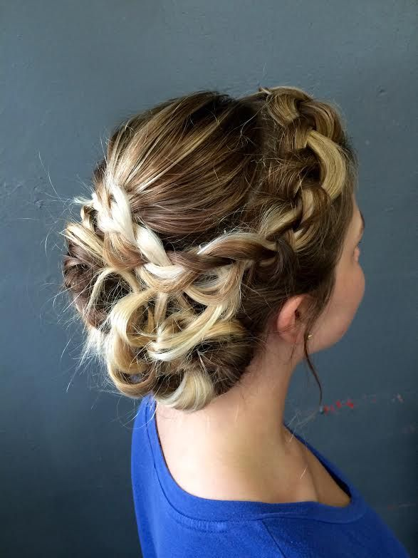 Updo done by Jennifer Cool