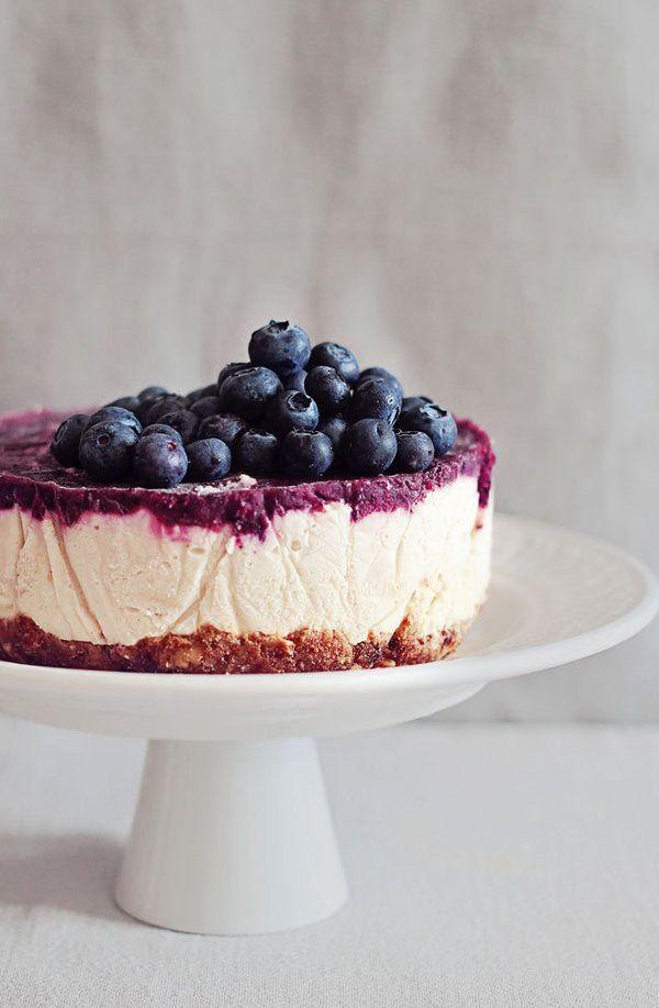 Blueberry Raw Cheesecake