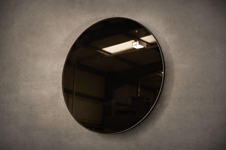 Port Round Bronze Mirror By Novocastrian Co Mirror Furniture Metal Metalfurniture Craft Madeinbritain Handcrafted Me Mirror Round Mirrors Bronze Mirror