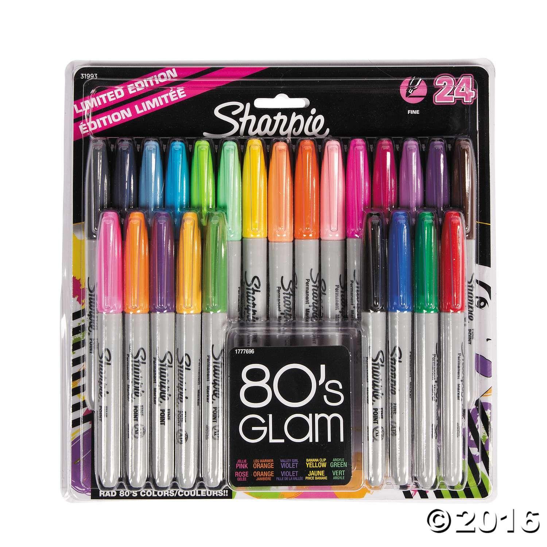 Sharpie® 80's Glam Marker Pack