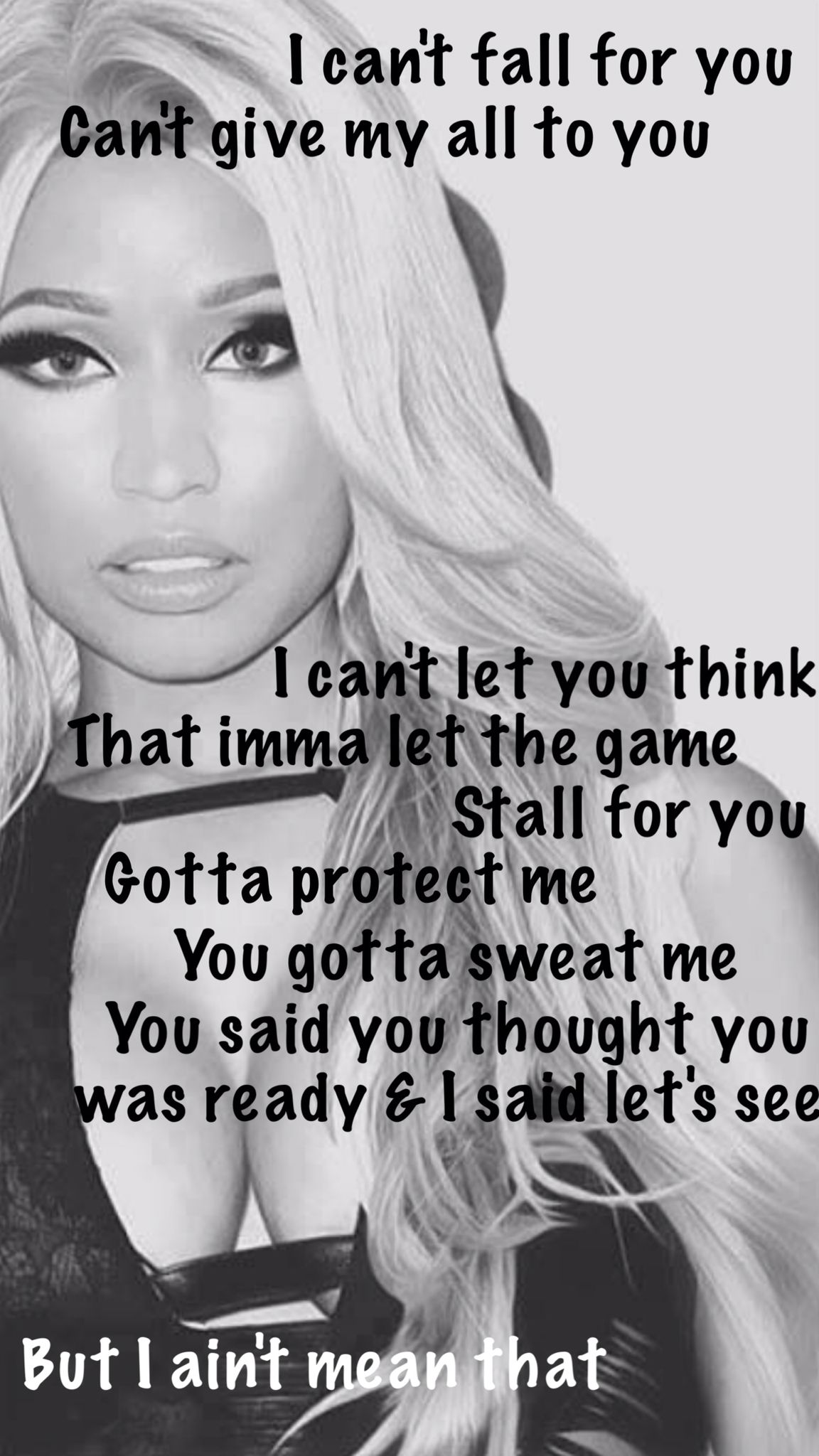 Nicki Minaj - I Lied | Music quotes, Lyric quotes, Niki ...