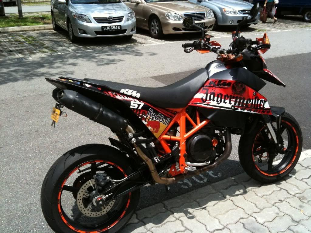 Supermoto ktm 690 stunt concept bikemotorcycletuned car tuning car -