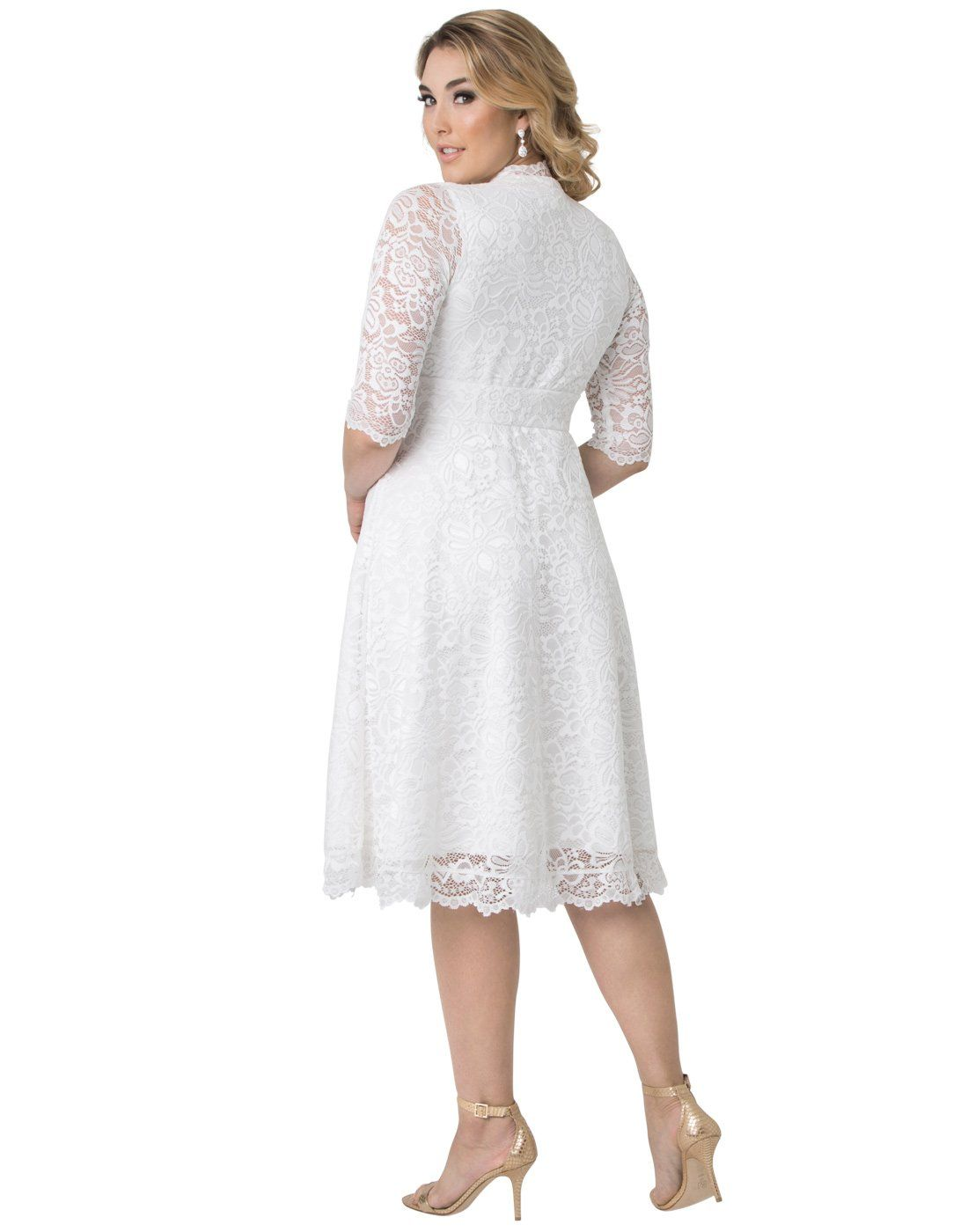 5fe48a84df2 Kiyonna Womens Plus Size Wedding Belle Dress 2X Ivory     Click image to  review more details. (This is an affiliate link)  fashiondresses