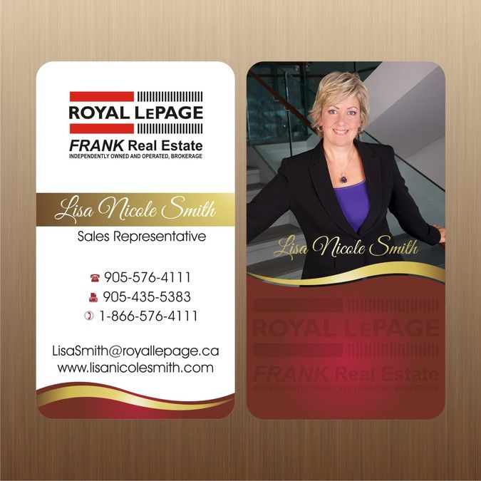 Royal lepage real estate needs a new business card by im armand royal lepage real estate needs a new business card by im armand reheart Images