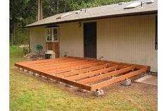 Building a deck on the cheap generally means not using a treated wood, and then to compensate for this, using a wood preservative instead. Some concessions can be made by doing this, as well as using deck screws instead of nails and sanded plywood for the top instead of individual boards, a deck made like this, although more labor intensive over...