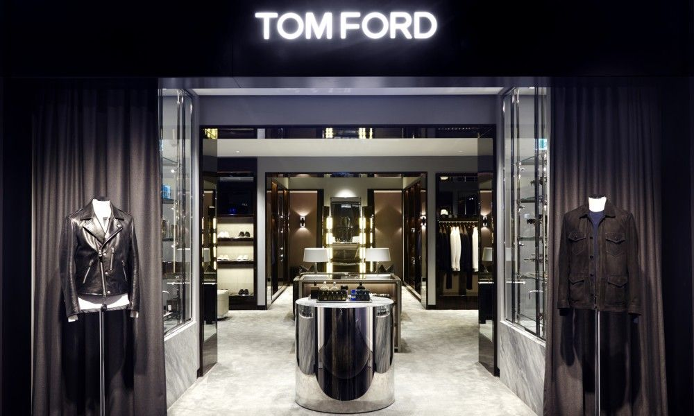 52bf0c707957 Tom Ford retail shop in Harrolds.