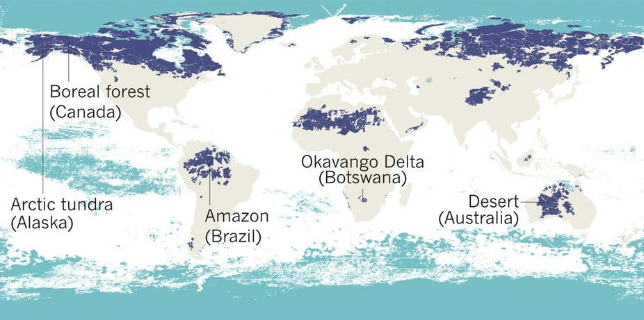 Five Maps That Reveal The World S Remaining Wilderness