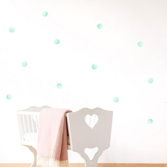Decorate Your Walls In Minutes With Beautiful Watercolour Polka
