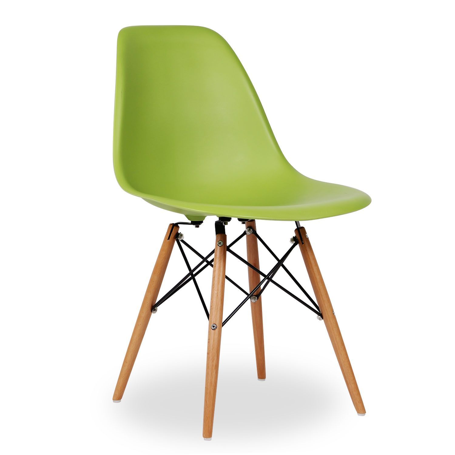 Fauteuils Dsw Wooden Chair High Quality Color Edition Design Icon