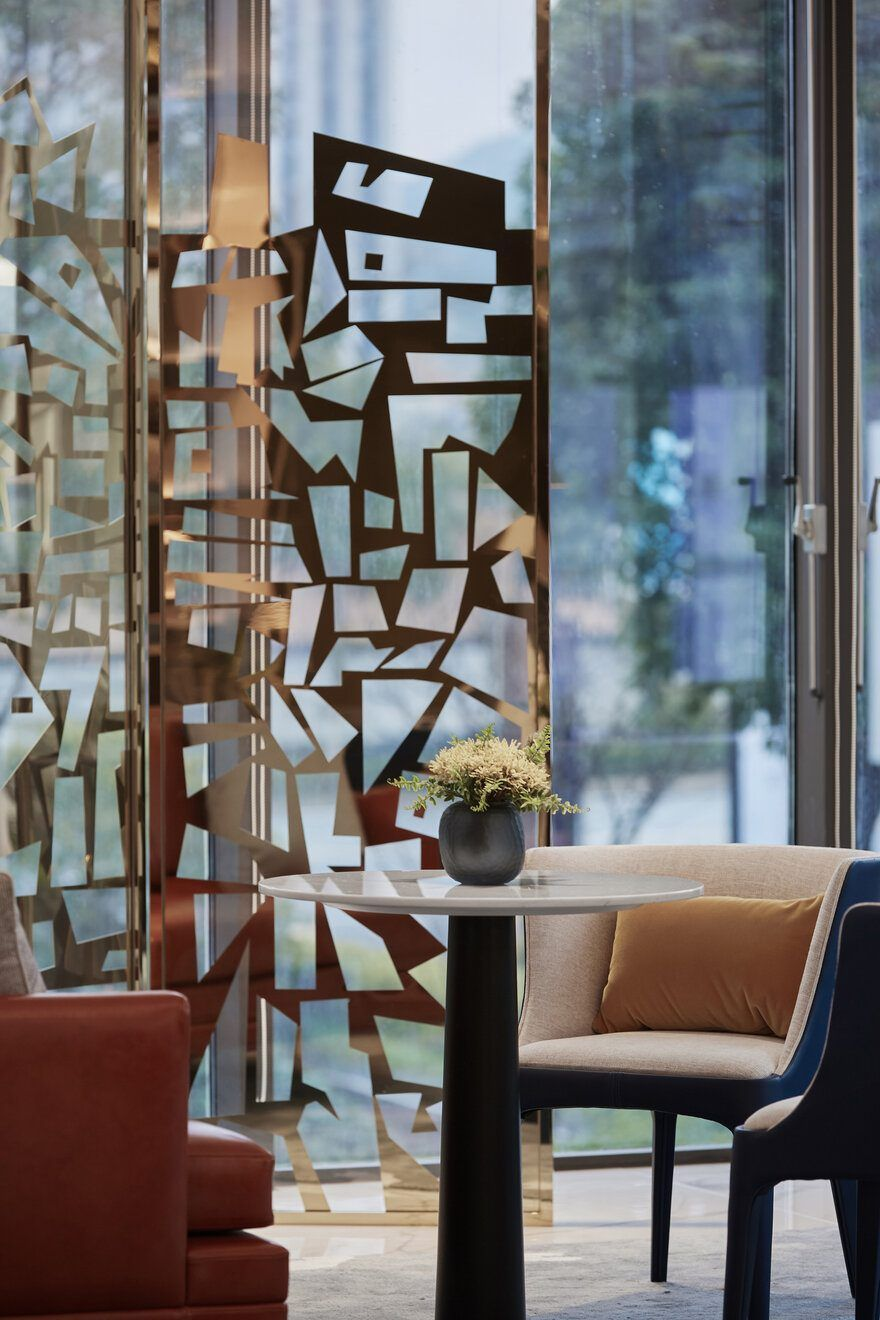 Dothink Hangzhou 2022 Sales Center Show Flats By Da Group Flat Interior Design Flat Interior Sales Center