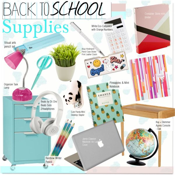 Interior Design Supplies how to wear back to school supplies outfit idea 2017 - fashion