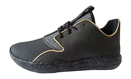 058de13db48 ... italy nike air jordan eclipse holiday bg trainers 812871 sneakers shoes  6y black metallic gold 007
