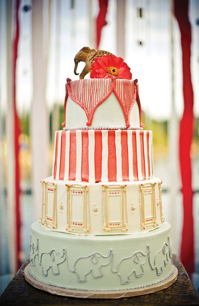 Circus Themed Wedding Cake Le Cookie Monkey